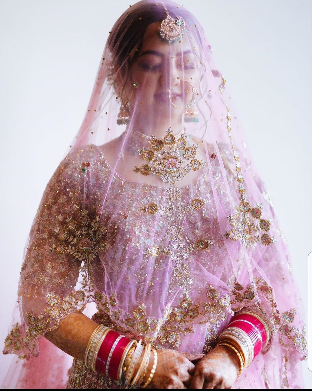 Rimple and Harpreet Lehenga Prices