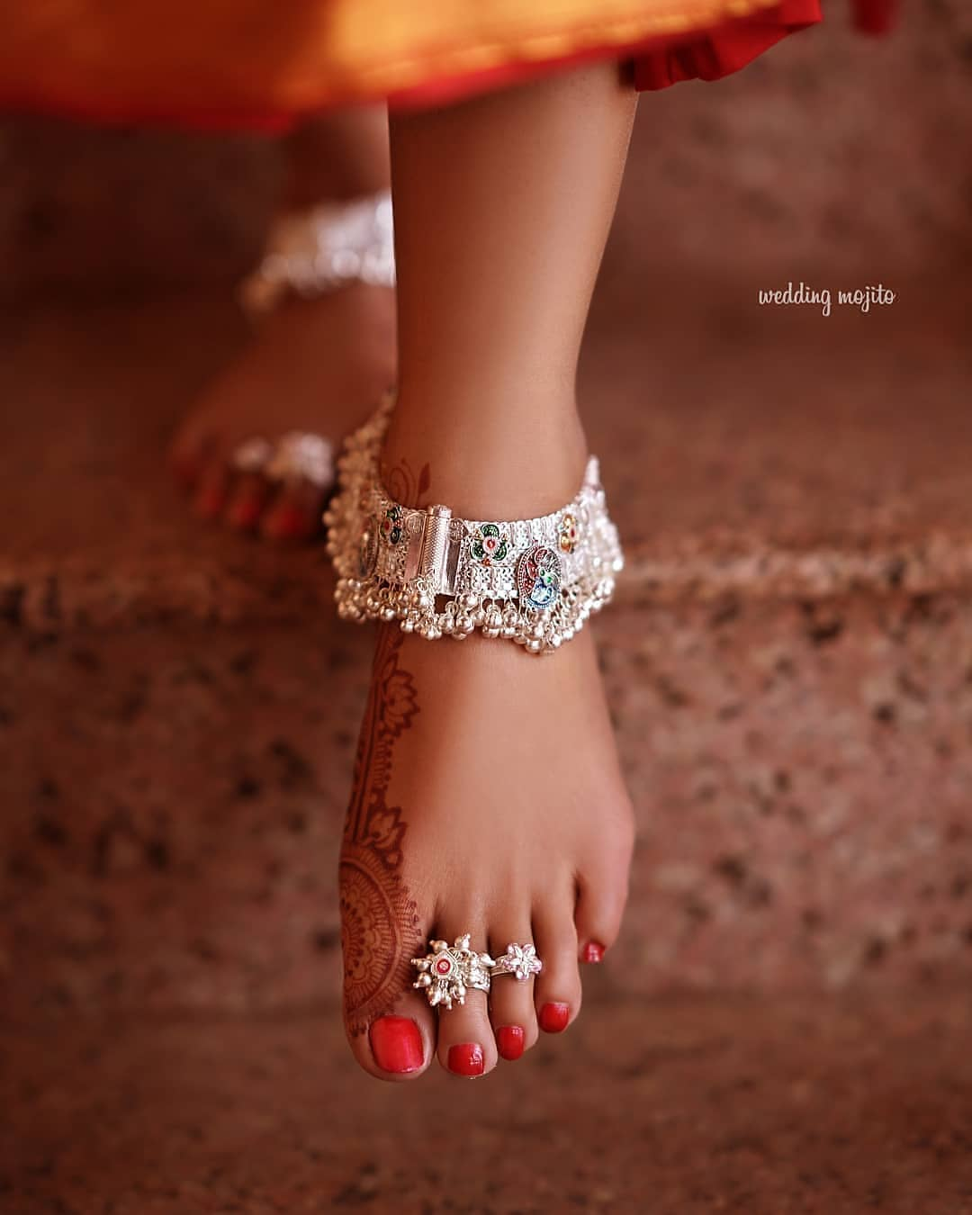 Silver Payal Design