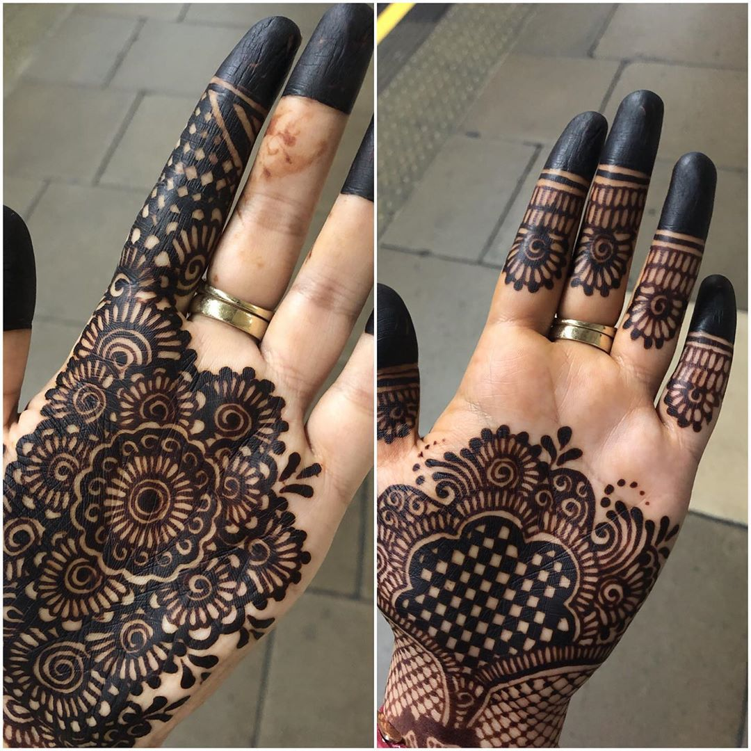 Simple Mandala Mehndi Design