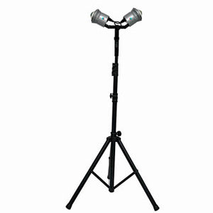 trade show tent lights, craft show tent lights, show off lighting, LED tripod lights