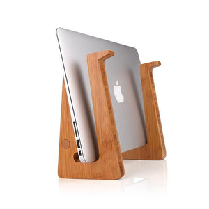 StandzUp The Bamboo - Ergonomic Laptop Riser Stand