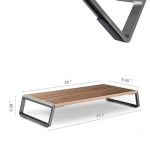 StandzUp CHINA / Brown The Step Up - Ergonomic Laptop & Monitor Stand