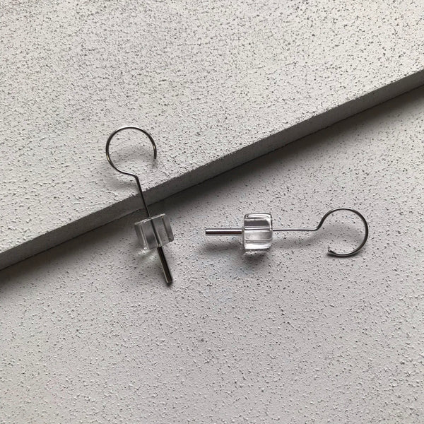 plus stainless pierces crystal