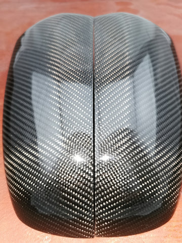 Carbon fiber mirror covers for BMW X5 E70 X6 E71 E72 - SpasGoranov