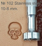 Leather stamp tool #102 Stainless Steel - SpasGoranov