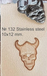 Leather stamp tool #132 Stainless Steel - SpasGoranov