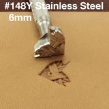 Leather stamp tool #148Y Stainless Steel - SpasGoranov