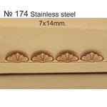 Leather stamp tool #174 Stainless Steel - SpasGoranov