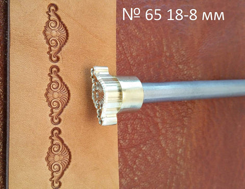 Leather stamp tool #65 - SpasGoranov