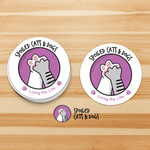 Spoiled Cats and Dogs Sticker