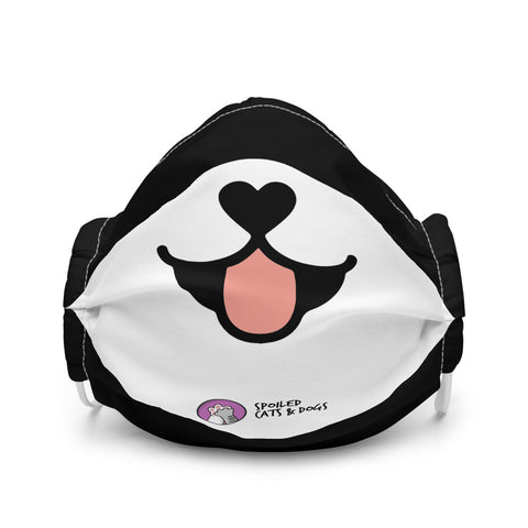 Dog Premium face mask - CUTE DOG - Spoiled Cats and Dogs