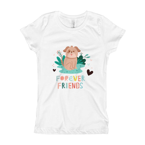 Forever Friends - Dogs -- Spoiled Cats and Dogs - Girl's T-Shirt