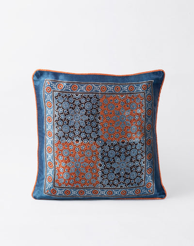 Kissen Ajarak Azima Blue/Orange