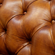 Old England Armchair - Caramel Brown - cm120