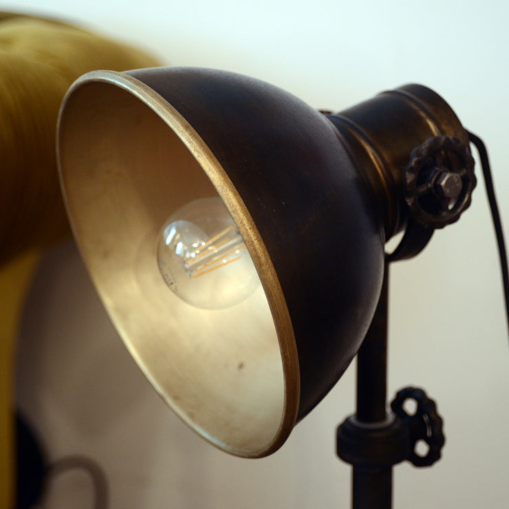 Vintage Industrial Lampe (small)