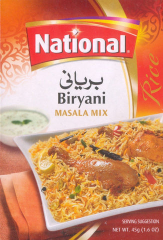 National Biryani Masala Mix 90g