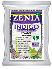 200g Zenia Indigo Powder Natural Black Hair Dye