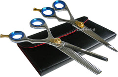 "6.5"" Hair Cutting and Hair Thinning Shears Scissors Model 43SP"