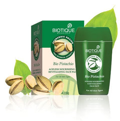 Biotique Bio Pistachio Ageless Nourishing & Revitalizing Face Pack