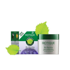 Biotique Bio Myristica Spot Correcting Anti-Aging Face Pack 25g