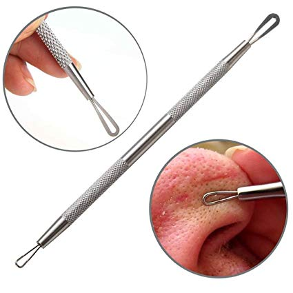 1 Scoop 1 Hole Blackhead whitehead comedone pimple Extractor