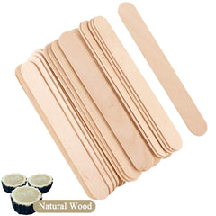 "100  Wax Spatulas Waxing Sticks Wood Applicators 1/8"" x 5½"""