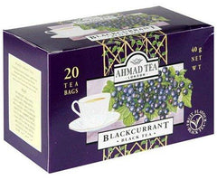 Ahmad Tea London Blackcurrant 20 Tea Bags