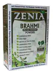 100g Zenia Brahmi Powder Box - Zenia Herbal
