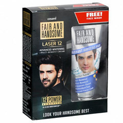 Fair And Handsome LASER 12 Advanced Whitening for Mens