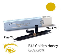 HennaEyes Henna EyeLiner Pen Golden Honey Color
