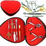 Beauty Salon Manicure Kit Heart Shaped
