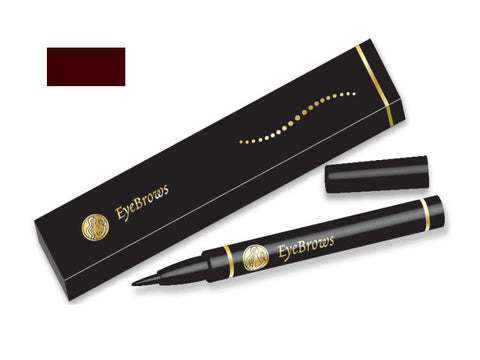 Henna Eye brow Liner Pen Dark Brown Color