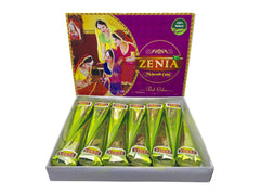 100 x Zenia Ready to Use Temporary Pure Henna Tattoo Cones