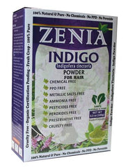 100g Zenia Indigo Powder Box 2016 Crop - Zenia Herbal