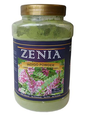 Zenia Indigo Powder Bottle - Zenia Herbal