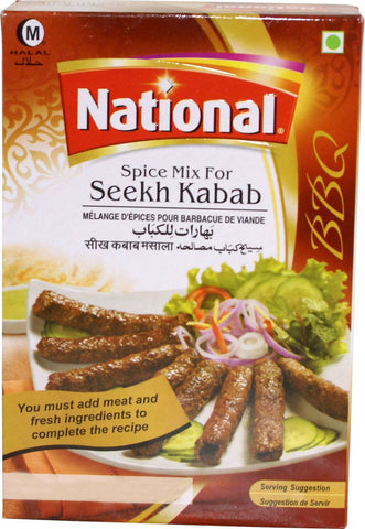 National Spice Mix For Seekh Kabab 100g