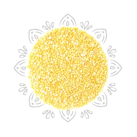 Organic Moong Dal / Split Yellow Lentils 2lb