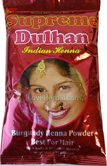 Burgundy Color Supreme No 1 Bridal Henna Powder 150g (5.2oz)