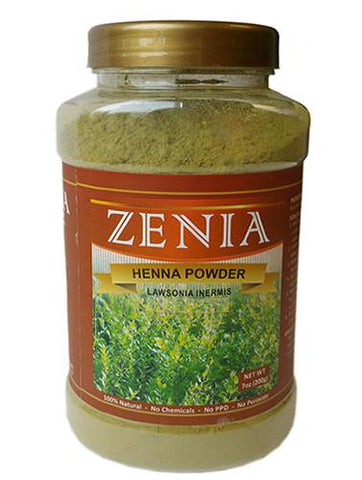 Zenia Pure Henna Powder Bottle - Zenia Herbal