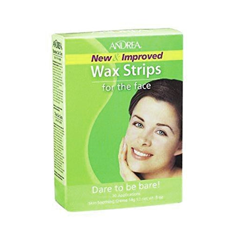 Andrea Wax Strips for the Face 15g