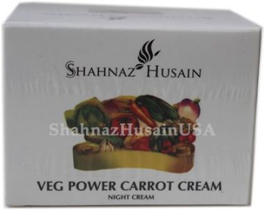 Shahnaz Husain Veg power Carrot Night Cream