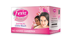 Fem Saffron Fairness Facial Creme Bleach 64g