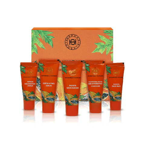 Shahnaz Husain Mini Papaya Fruit Facial Kit