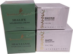 Herbal Facial Kit I Shacleanse, Shascrub, Shalife & Shatex