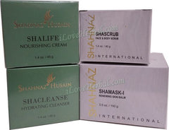 Herbal Facial Kit II Shacleanse, Shascrub, Shalife & Shamask I