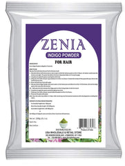 1000g (1kg) Zenia Indigo Powder Hair / Beard Dye Color