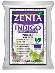 100g Zenia Indigo Powder Hair / Beard Dye Color