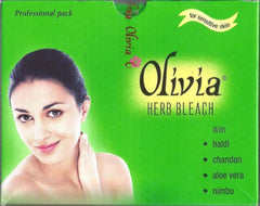 270gSalon Size Olivia Herbal Bleach for facial hair & skin