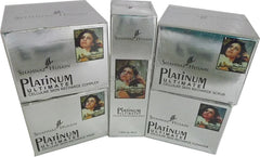 Platinum facial kit Cleanser Scrub Mask Complex Serum