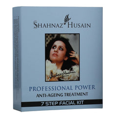 Shahnaz Anti-Ageing Treatment 7 Step Mini Facial Kit